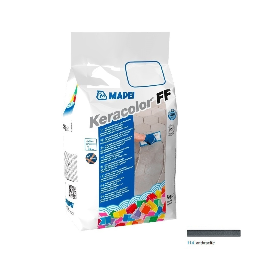 Keracolor FF 5 Kg cod 114 Antracite