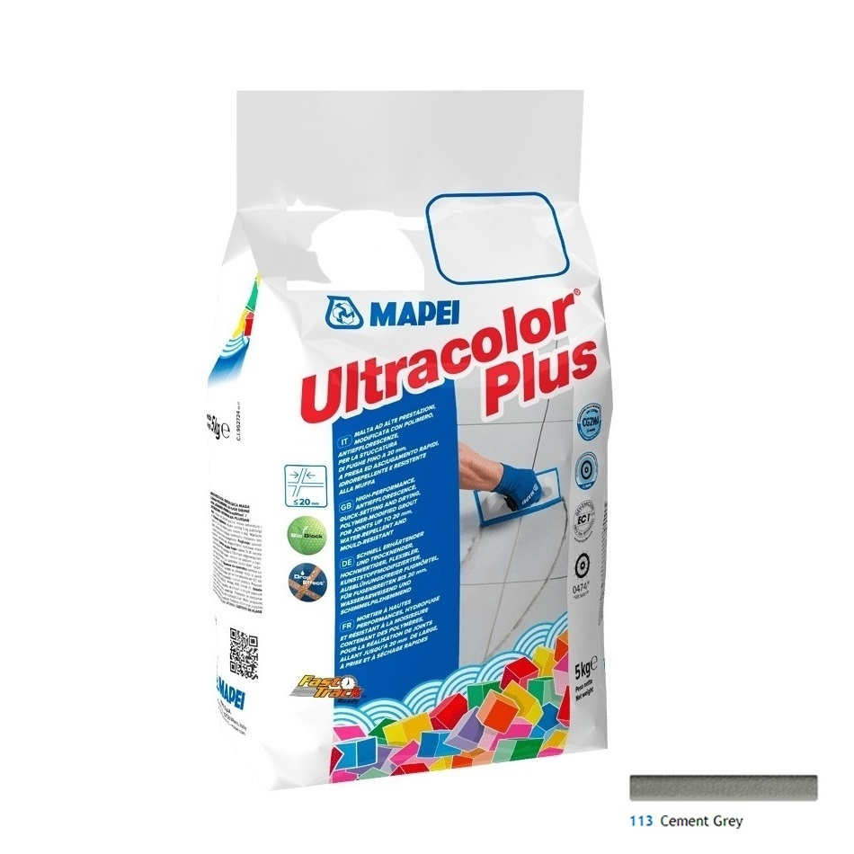 Ultracolor Plus 5 Kg cod 113 Cement Grey