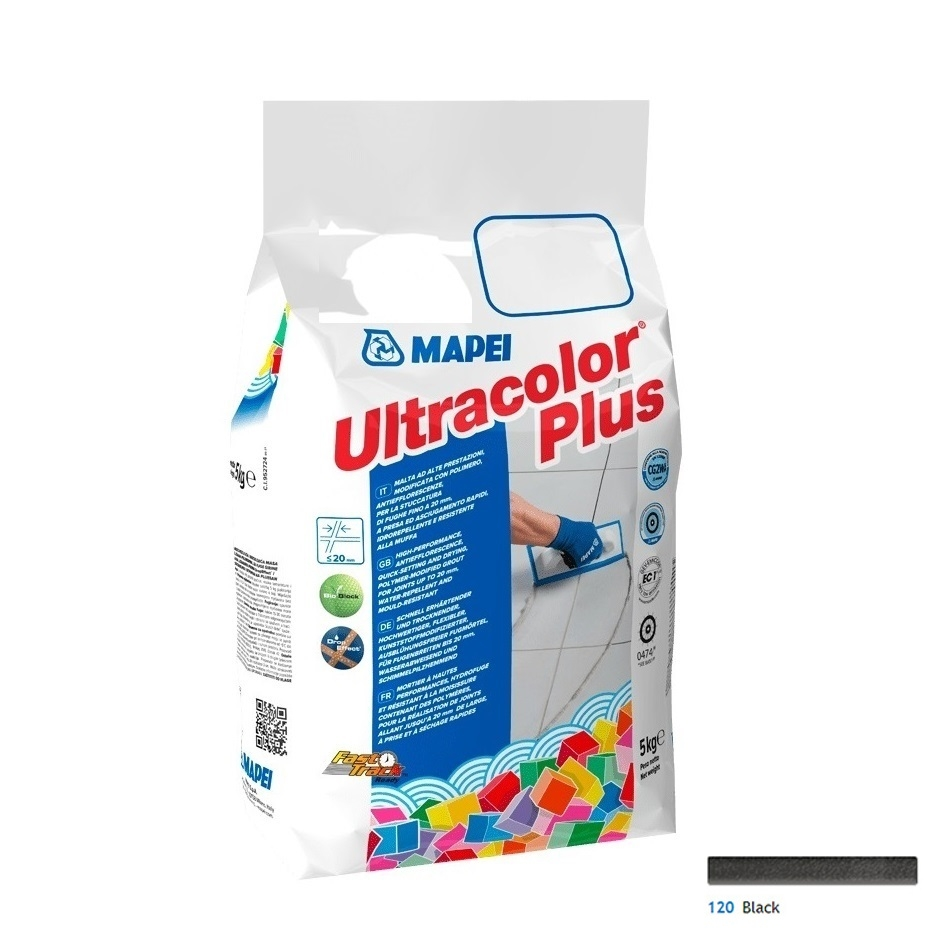Ultracolor Plus 5 Kg cod 120 Black