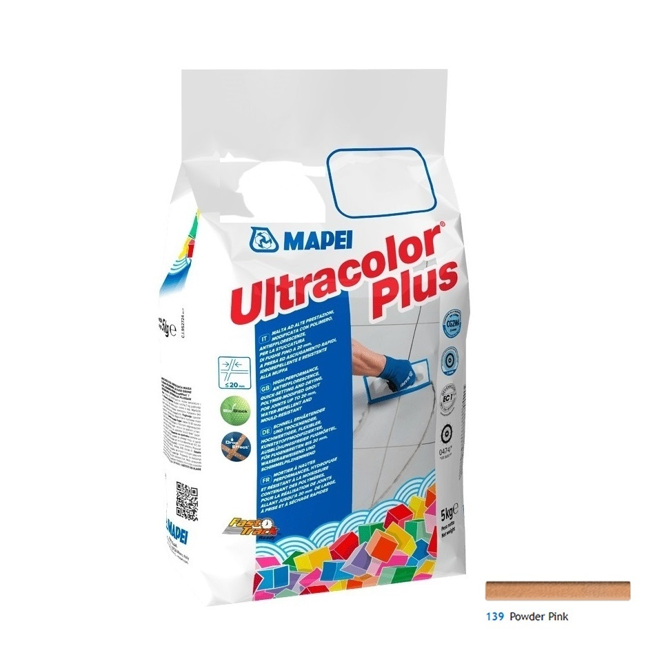 Ultracolor Plus 5 Kg cod 139 Pink Powder
